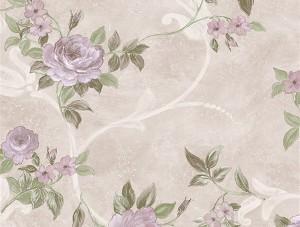 Dekor Harmony Çiçekli Mor 146-C Duvar Kağıdı