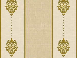 Dekor Harmony Çizgili Sarı Gri 163-A Duvar Kağıdı
