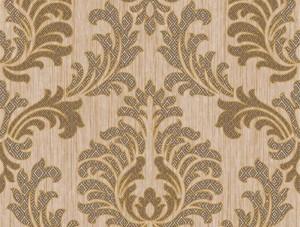 Dekor Harmony Damask Sarı 185-B Duvar Kağıdı