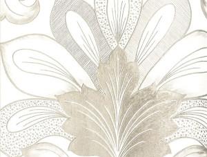 Livart Genesis Gri Damask Desenli 710-5 Duvar Kağıdı