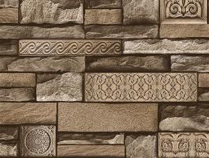 Dekor Harmony Taş Kahverengi 105-C Duvar Kağıdı