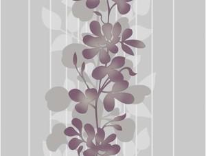 Dekor Harmony Çiçekli Gri 126-C Duvar Kağıdı