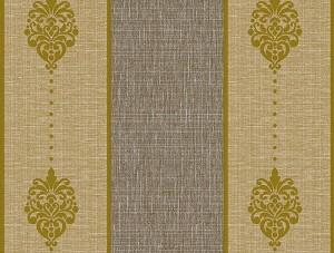 Dekor Harmony Çizgili Sarı Gri 163-B Duvar Kağıdı