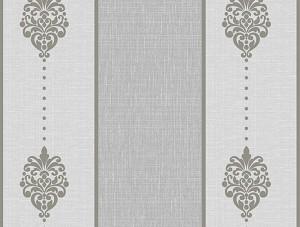Dekor Harmony Çizgili Gri 163-C Duvar Kağıdı