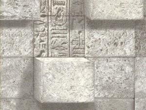 Livart Genesis Gri Mozaik Taş Desenli 771-1 Duvar Kağıdı
