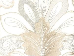 Livart Genesis Bej Damask Desenli 710-3 Duvar Kağıdı